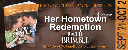 Banner - Her Hometown Redemption by Rachel Brimble