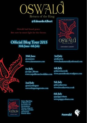 oswald the great blog tour poster