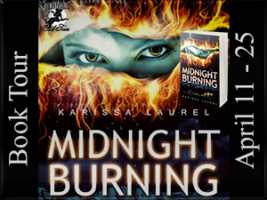 Midnight Burning - Blog Tour Poster