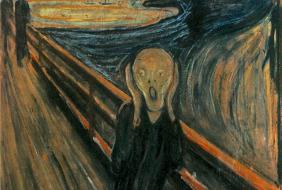 Scream by Van Gogh painting