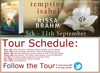 Tour poster for Tempting Isabella