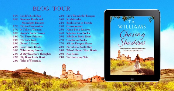 Blog Tour Poster Chasing Shadows