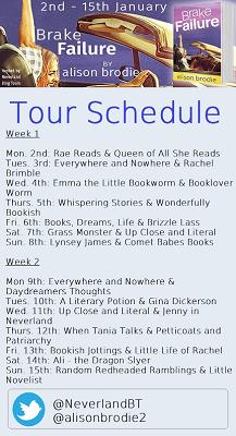 Brake Failure tour schedule