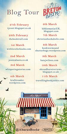 Little Breton Bistro by Nina George Blog Tour Poster