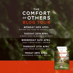 The Comfort of Others by Kay Langdale tour poster