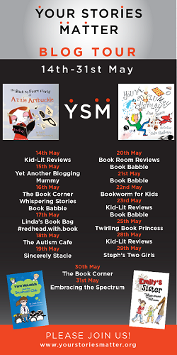Your Stories Matter blog tour poster