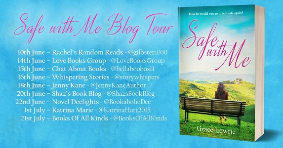 Safe with Me by Grace Lowrie tour poster