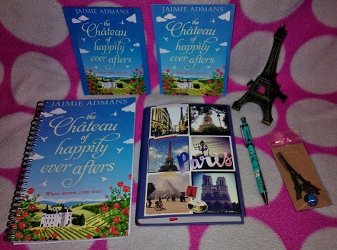 The Chateau of happily ever afters by jamie admans gievaway picture