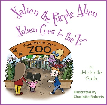 Xalien goe to the Zoo by Michelle Path