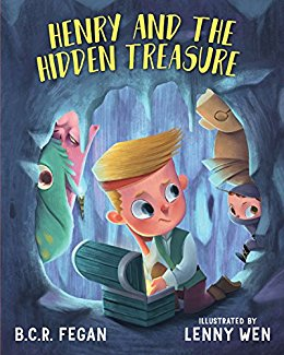 Henry and the hidden treasure by B C R Fegan