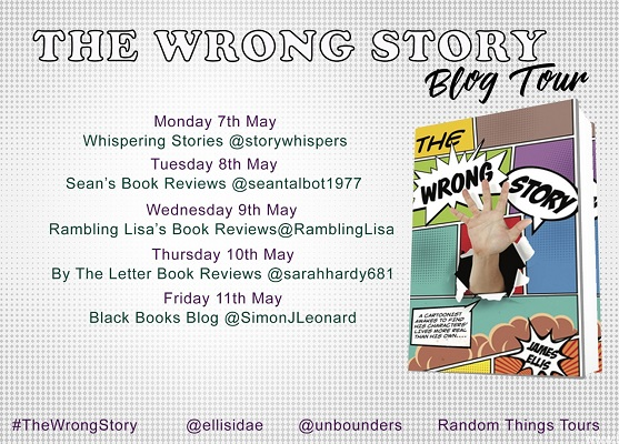 The Wrong Story Blog Tour Poster