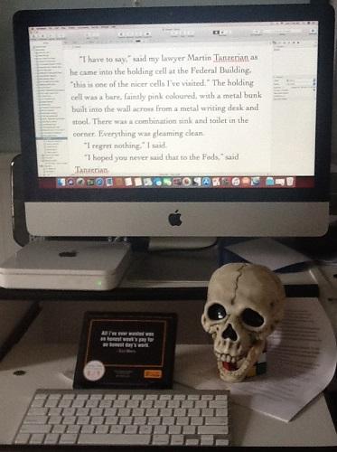 Duncan MacMaster's Desk