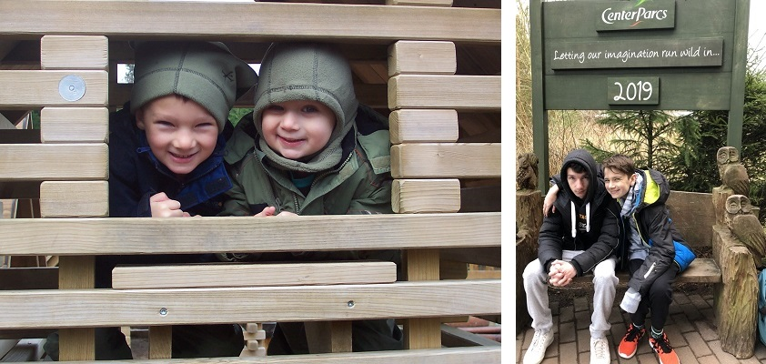 Kids at center parcs