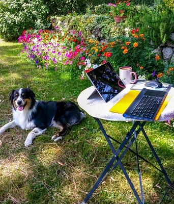 Where Beth Writes in Summer